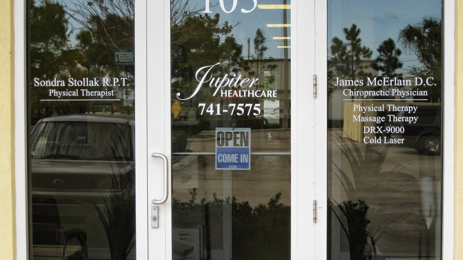 Jupiter Healthcare Front Door